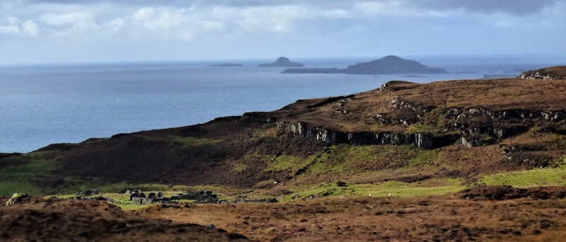 Crackaig, Lunga and Staffa