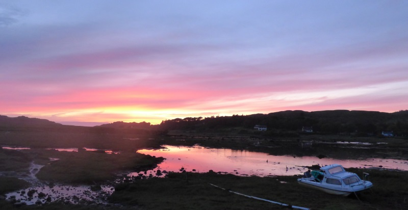 Dervaig sunset