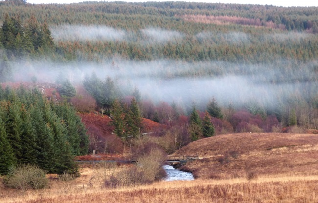 Mist over Glen Aros