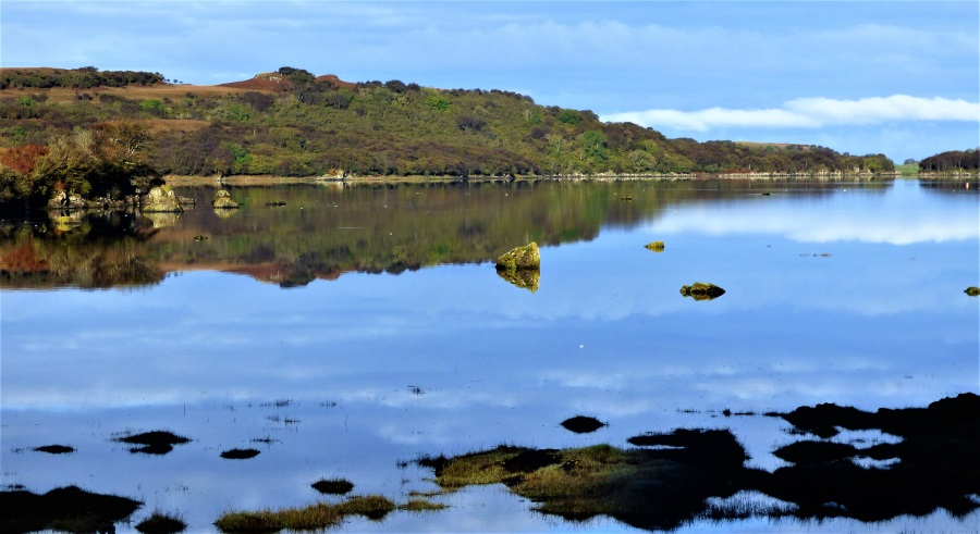 Reflection on Loch Cuin