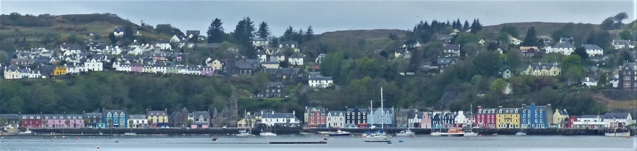 Tobermory from Aros park